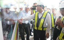 Phó Thủ tướng Vương Đình Huệ kiểm tra tiến độ các dự án trọng điểm ở TP.HCM