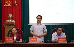 Phó Thủ tướng Vũ Đức Đam kiểm tra công tác phòng chống bão số 3 tại Ninh Bình