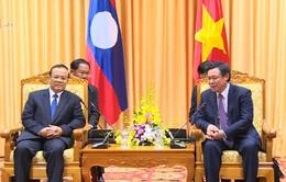 Phó Thủ tướng Vương Đình Huệ tiếp Phó Thủ tướng, Bộ trưởng Tài chính Lào