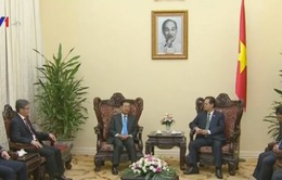 Thủ tướng Nguyễn Tấn Dũng tiếp Phó Thủ tướng Lào Somsavat Lengsavad