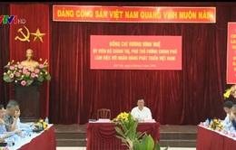 PTT Vương Đình Huệ làm việc với Ngân hàng Phát triển Việt Nam