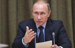 Tổng thống Nga phê chuẩn thỏa thuận triển khai không quân ở Syria