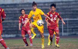 Trực tiếp trận khai mạc lượt về giải bóng đá nữ VĐQG 2016 (15h50, VTV6)
