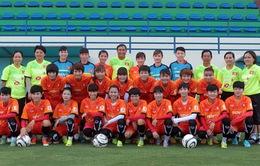 ĐT nữ Việt Nam bắt đầu tập huấn tại CH Czech chuẩn bị cho AFF Cup 2016