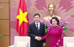 Chủ tịch Quốc hội tiếp Đại sứ Hàn Quốc, Đại sứ Iran