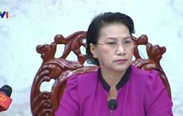 Chủ tịch Quốc hội kiểm tra công tác bầu cử tại Hậu Giang