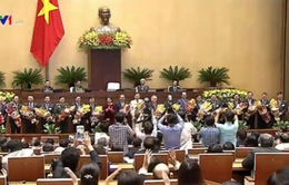Phê chuẩn 3 Phó Thủ tướng và 18 Bộ trưởng, thành viên Chính phủ