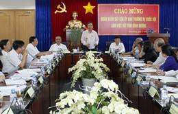 Đoàn giám sát của Ủy ban TVQH làm việc tại Đồng Nai