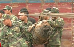 Hải Phòng xử lý thành công quả bom mắc vào mỏ neo tàu hàng