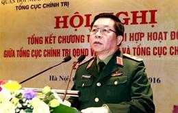 Tăng cường phối hợp giữa TCCT Quân đội nhân dân Việt Nam và TCCT Công an nhân dân