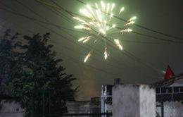 Quảng Bình: Pháo nổ rầm rộ đêm Giao thừa, bất chấp lệnh cấm