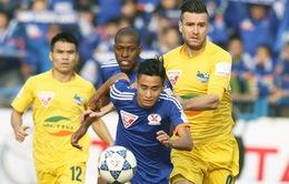 KT, Vòng 24 V.League 2016: Than QN đánh rơi chiến thắng, Hà Nội T&T giành ngôi đầu