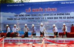 Quảng Trị khởi công xây dựng cầu Thành cổ