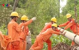 Quảng Bình khắc phục sự cố lưới điện sau lũ