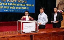 Mặt trận Tổ quốc Việt Nam phát động quyên góp ủng hộ đồng bào vùng lũ Nam Trung Bộ
