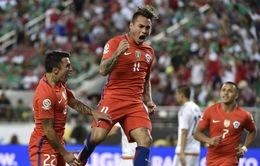 Mexico 0-7 Chile: Sức mạnh kinh hoàng của nhà ĐKVĐ