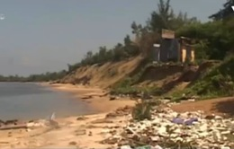 Bờ biển Quảng Nam ngập ngụa rác thải