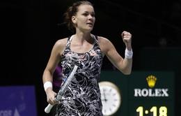 Bảng trắng WTA Finals: Radwanska giành quyền vào bán kết