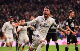Thắng kịch tính, Real Madrid lập kỷ lục bất bại