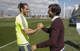 Huyền thoại Raul và R.Carlos tới cổ động sao Real trước El Clasico