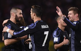 Ronaldo ghi bàn, Real Madrid vào chung kết FIFA Club World Cup 2016