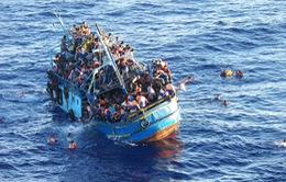 Lật tàu ngoài khơi Ai Cập, ít nhất 30 người di cư thiệt mạng