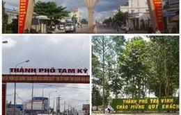 Công nhận 3 thành phố là đô thị loại I, II
