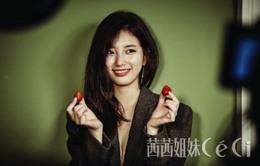 Suzy hóa cô gái tinh nghịch trên tạp chí Ceci