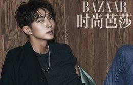 Lee Jun Ki lạnh như băng trên tạp chí Harper Bazaar