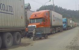 Giá rét nghiêm trọng, hàng trăm xe nông sản ùn ứ tại cửa khẩu Tân Thanh