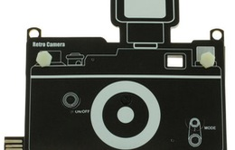 Ấn tượng máy ảnh siêu mỏng làm bằng... giấy