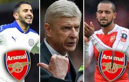 """HLV Wenger quyết định """"trảm"""" Walcott, rước sao Leicester về Arsenal"""