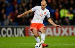 Robben bị loại khỏi ĐT Hà Lan