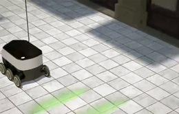 Dịch vụ bưu chính quốc gia Thuỵ Sĩ thử nghiệm robot giao hàng
