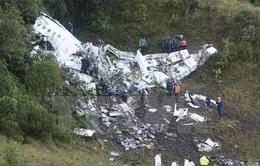 Brazil tổ chức quốc tang 3 ngày cho các nạn nhân vụ rơi máy bay