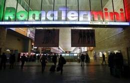 Nhà ga Rome mở cửa trở lại sau cảnh báo an ninh