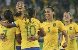 Lịch trực tiếp bóng đá nữ Olympic Rio 2016: Chờ đợi những trận bán kết hấp dẫn