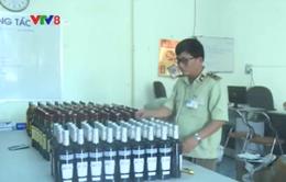 Phú Yên bắt giữ hơn 230 chai rượu ngoại nhập lậu