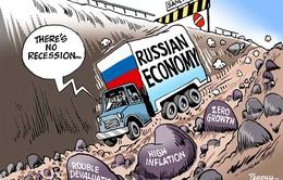 Chính phủ Nga đối phó với khủng hoảng