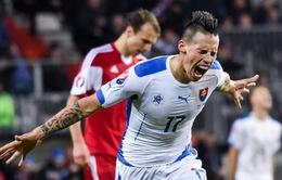 """EURO 2016, Anh – Slovakia: Hamsik thách thức """"Tam sư"""" (2h00 ngày 21/6 trên VTV3 & VTV3HD)"""