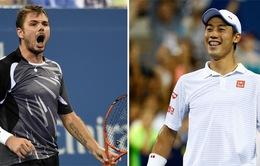 Tứ kết Rogers Cup 2016: Nishikori và Stan Wawrinka thắng ấn tượng