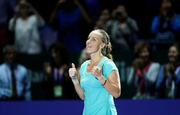 Bảng Trắng WTA Finals: Kuznetsova ra quân thắng lợi