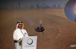 Dubai xây nhà máy điện mặt trời lớn nhất thế giới