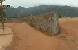 Gia tăng sa mạc hóa tại Ninh Thuận