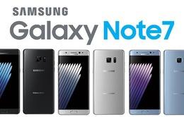 Galaxy Note 7 lộ ảnh thực tế và thông số trước giờ G