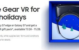 Sở hữu miễn phí kính thực tế ảo Gear VR trong dịp Black Friday