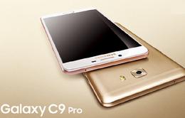 Galaxy C9 Pro lộ thiết kế và cấu hình giống Oppo R9 Plus