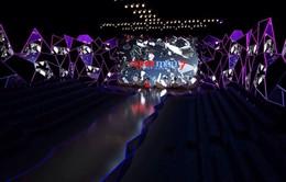 Sân khấu chung kết Vietnam's Next Top Model 2016 sáng lóa với hình ảnh gương vỡ