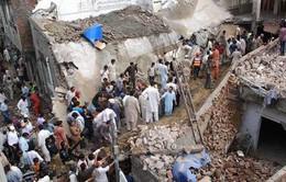 Sập nhà thờ ở Pakistan gây nhiều thương vong