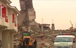 Sập nhà tại Nigeria: Ít nhất 22 người chết